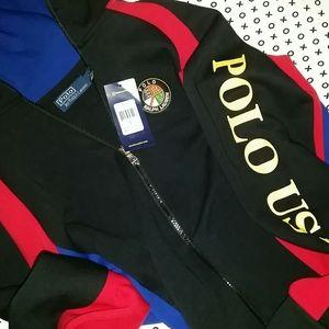 Polo zip up jacket/hoody